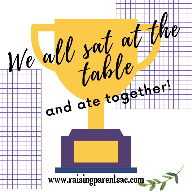 We all sat at the table! (1)